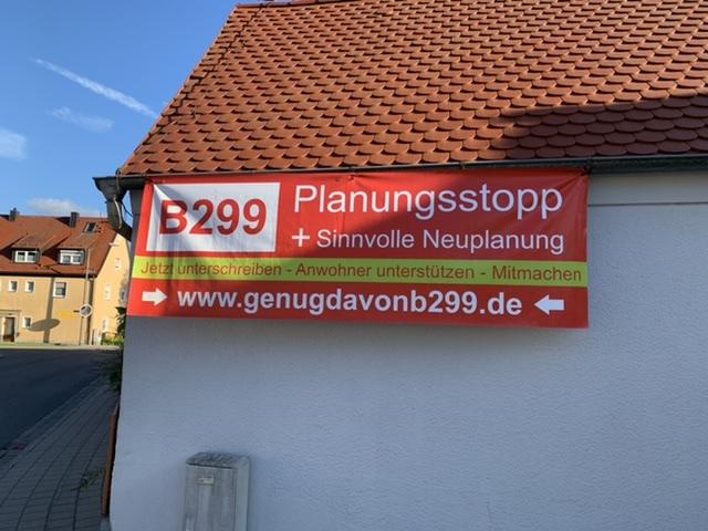 Forderung Planungsstopp zur bürger- und umweltfreundlichen Neuplanung